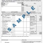 Certificate of Insurance Example