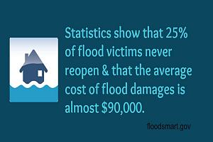 Statistic about flood insurance