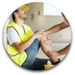 Workers Comp Circular Icon