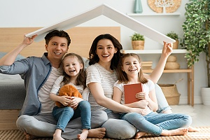 family protected with Home Insurance Marietta GA