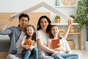 a family in Smyrna, GA who acquired a home insurance policy
