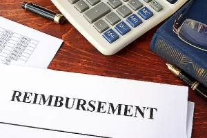 Reimbursement document. Commercial property insurance policy guarantees that your provider will reimburse you