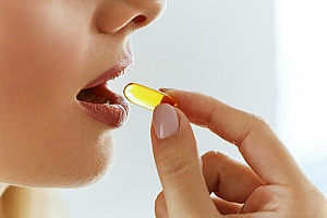 an individual consuming a dietary supplement that is protected by an insurance plan