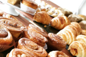 the bakery owner insured the machine that made the booked goods with an insurance policy