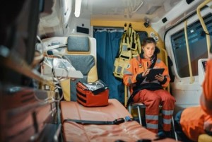 Medical Equipments in the Vehicle