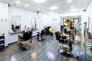 a hair and beauty salon that has commercial property coverage