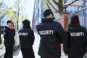security guards who acquired a security guard liability insurance policy