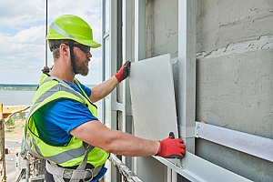 a siding installation contractor who is protected financially through insurance